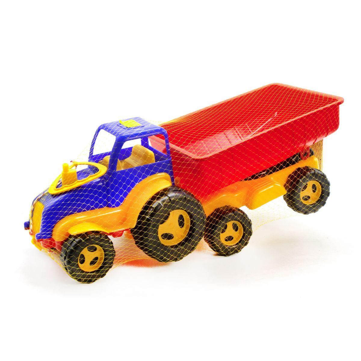 Трактор с прицепом (синий) Максимус (5013) оптом ...