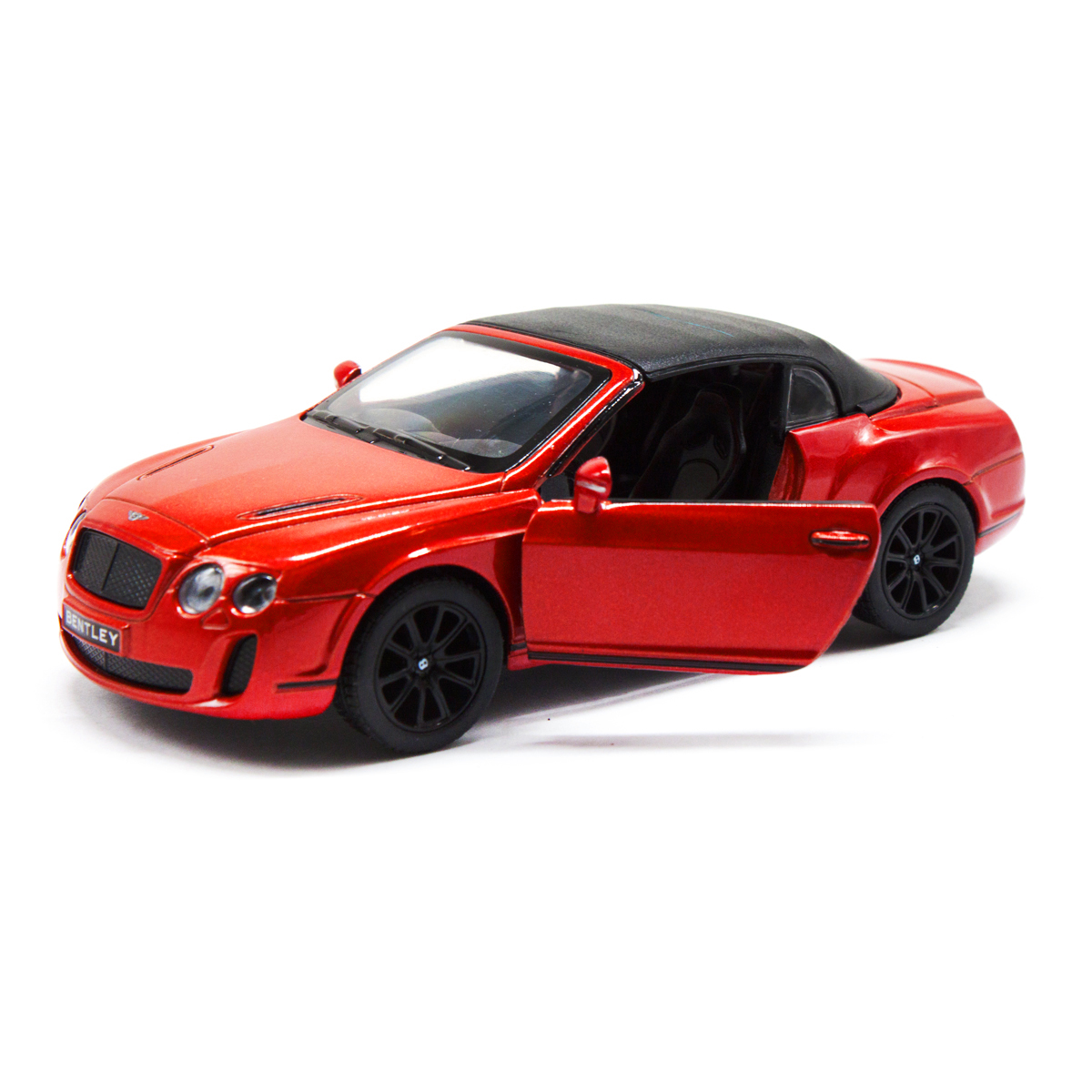 Машинка KINSMART Bentley Continental Supersports Convert (красная)
