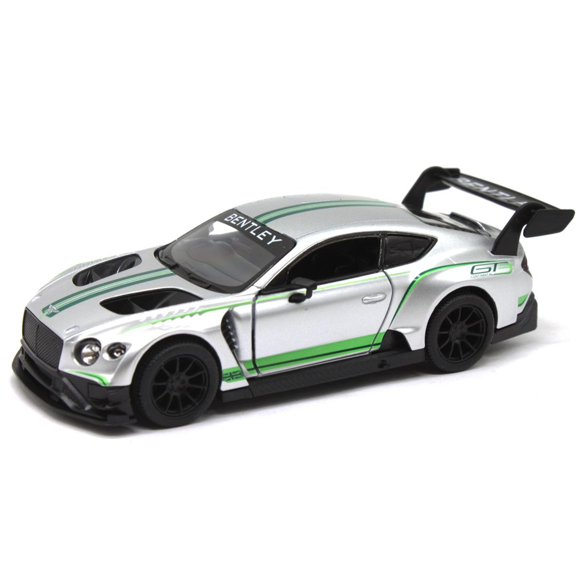 "Машинка KINSMART ""Bentley Continental GT3"", серая"