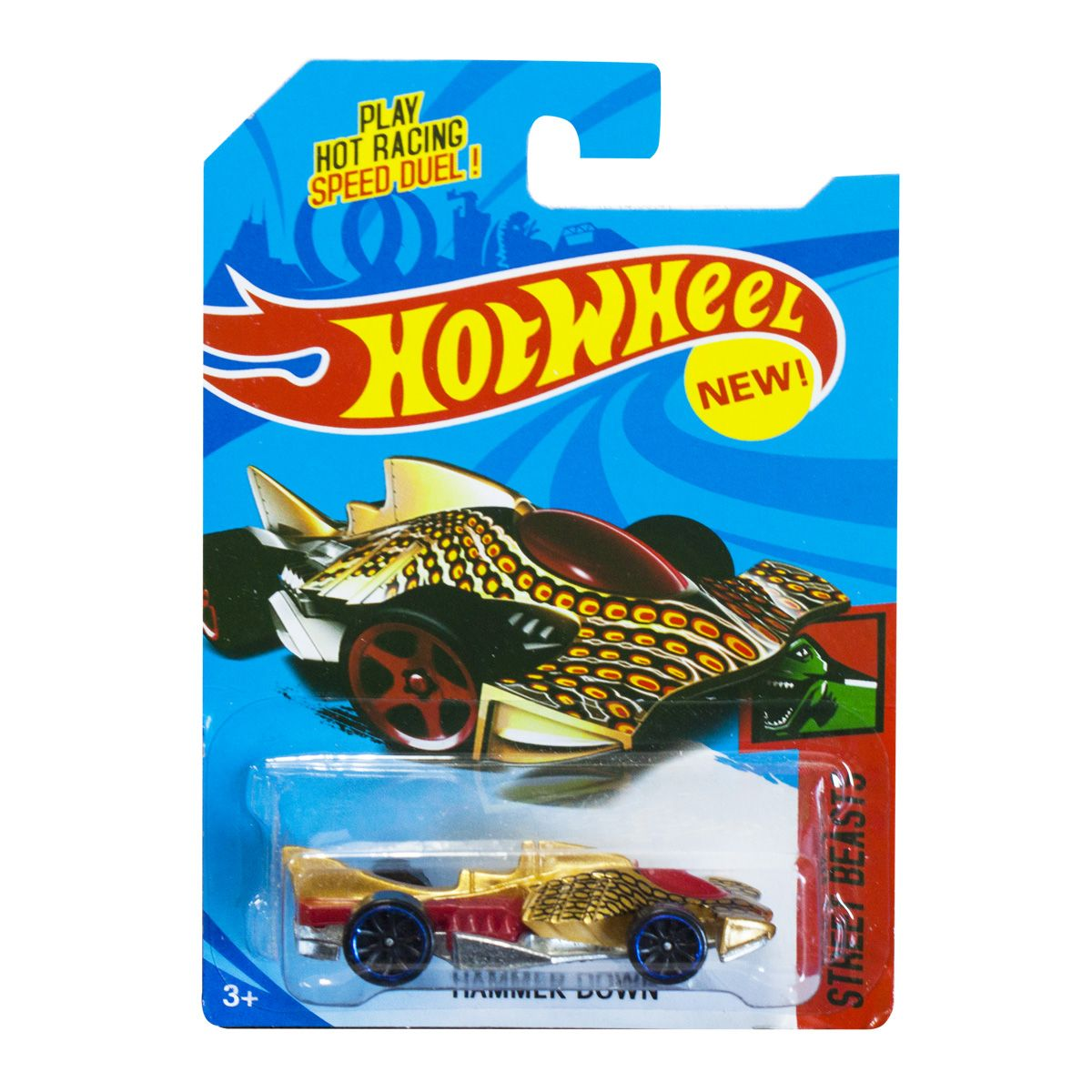 "Машинка-мутант ""Hot Wheel.  Hammer Down"""