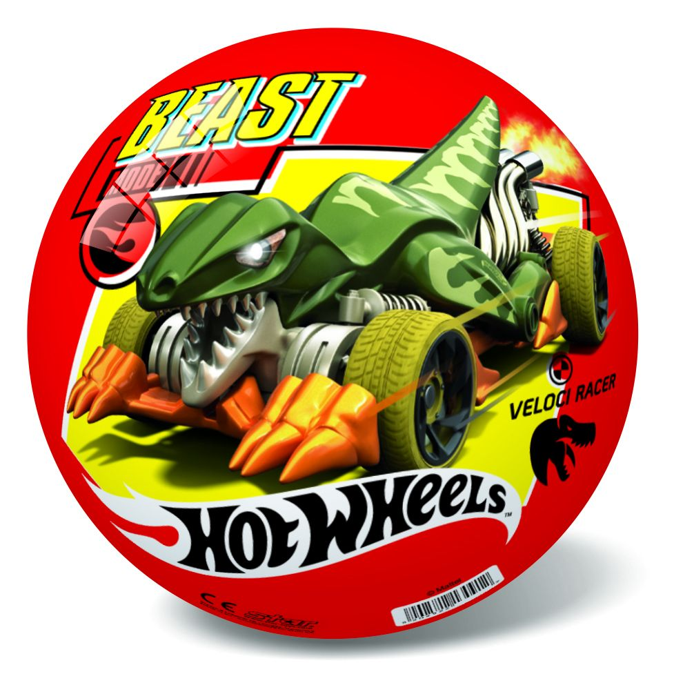 "М'ячик ""Hot Wheels"", 23 см"