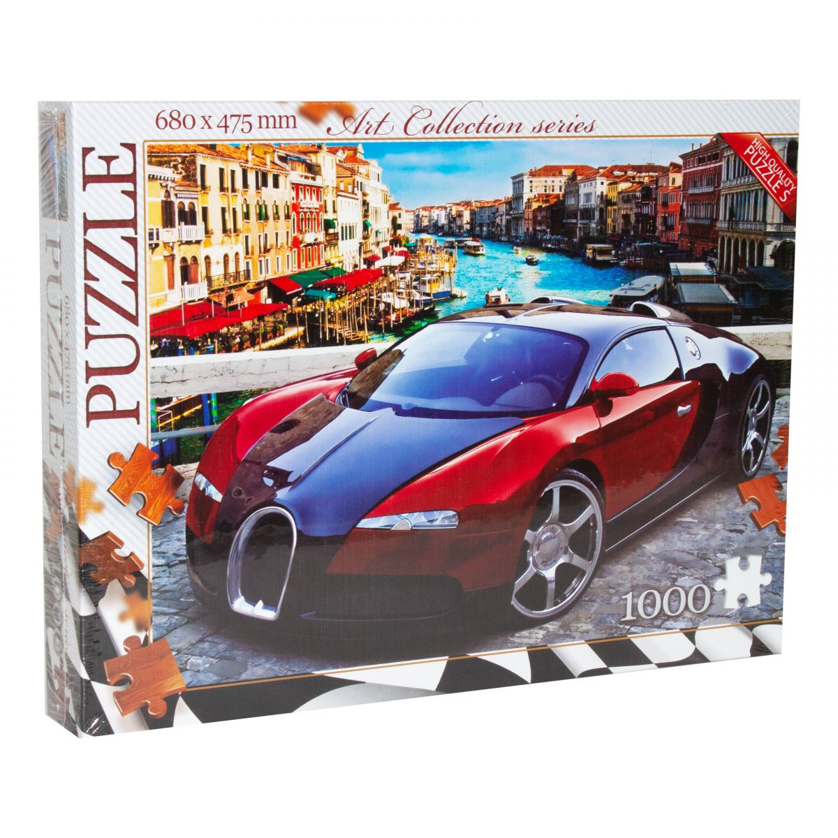 """1000 Images About All Of Bugatti On Pinterest: Пазлы """"Bugatti Veyron"""", 1000 элементов Dankotoys (C1000-07"""