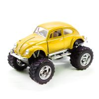 "Машинка KINSMART ""Volkswagen Beetle Off-Road"" (желтая)"