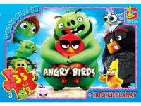 "Пазлы  ""Angry Birds"", 35 ел. фото"