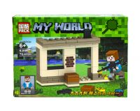 "Конструктор ""My World Minecraft: Стена"", 78 деталей фото"