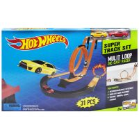 "Трек ""Hot Wheels: Super Track Set"", 31 деталь фото"