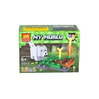 "Конструктор ""My World Minecraft, мини"