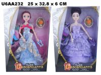 "Кукла 30см BLD032-1 ""Descendants"" с аксес. 2в. кор. 25*6*33 ш. к. /72/"